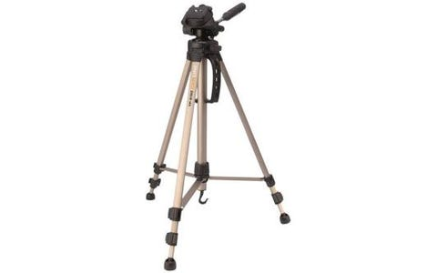 Camlink TP2100 3 Section 3 Way Pan Tilt Head Tripod & Case