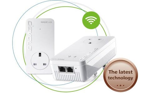 Devolo Magic 1 AC1200 Whole Home WiFi Starter Kit - Twin Pack