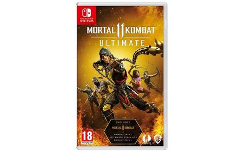 Nintendo Switch Mortal Kombat 11 Ultimate Game