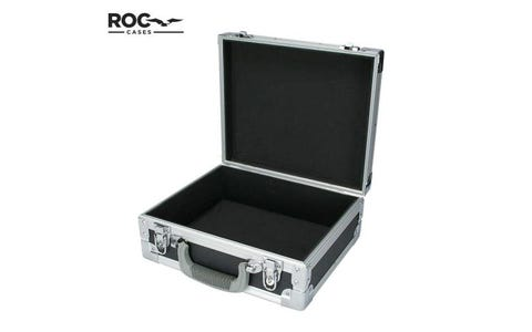 ROC Cases Heavy Duty Aluminium Flight Case  - Black