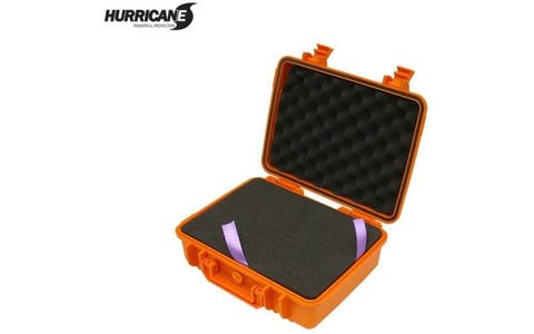 Hurricane Shockproof & Waterproof Flight Case - Orange