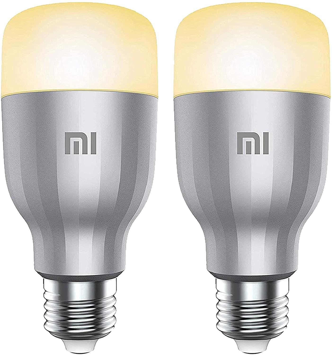 Xiaomi Mi Multicolour WiFi LED Smart Bulb - E27, 2 Pack