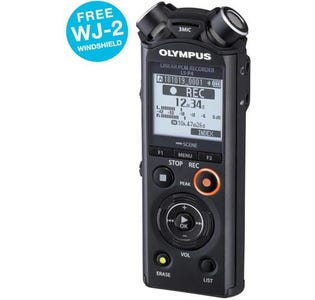 Olympus LS-P4 8GB Hi-Res Audio Recorder inc Battery and Tripod Adapter