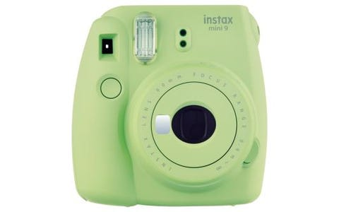 Fujifilm Instax Mini 9 Instant Camera including 10 Shots - Lime Green
