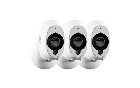Swann Smart Wireless Full HD Security Camera (Pack of 3) - White