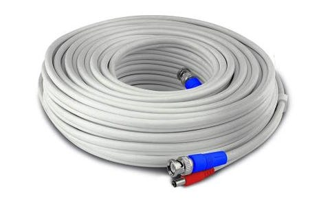 Swann HD Video and Power BNC Extension Cable - White, 15m