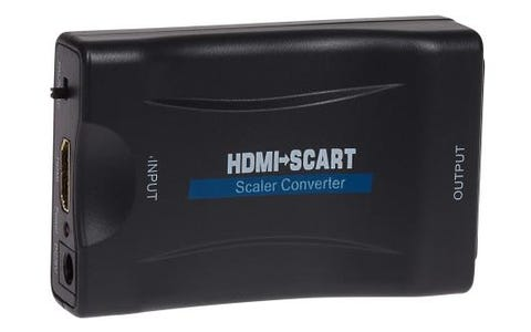 Maplin HDMI to SCART Adapter - Black
