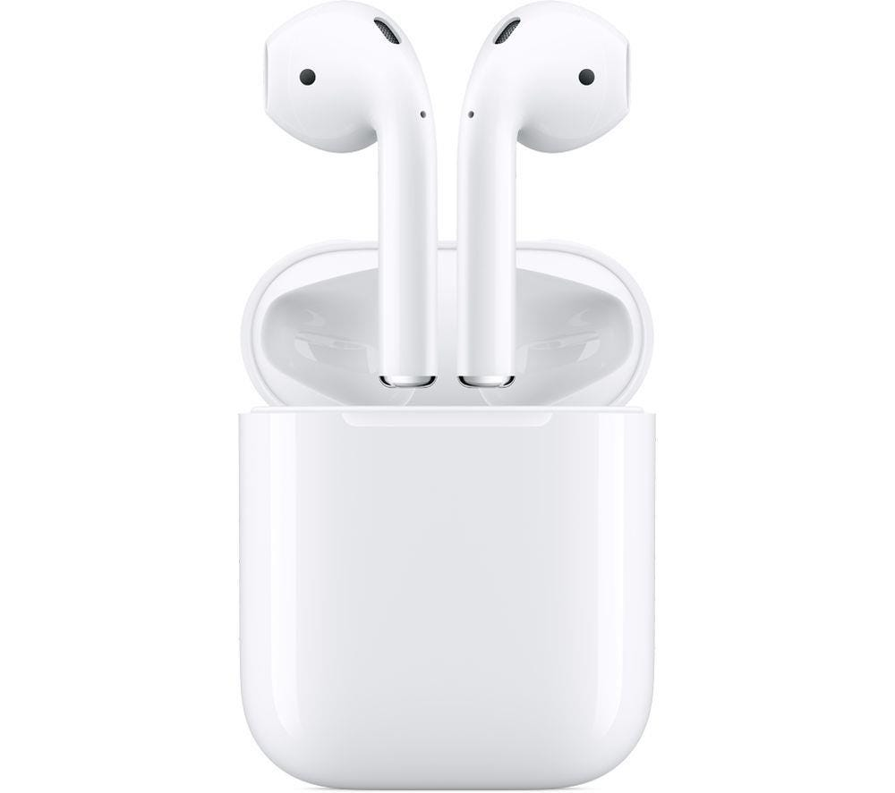 Apple AirPods True Wireless Earphones with Charging Case - White