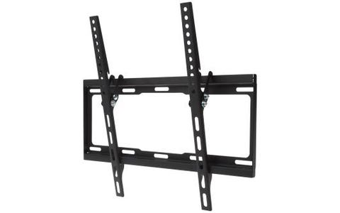 "ProperAV Flat Wall Tilting TV Bracket Flat and Curved 32""-55"" - Black"