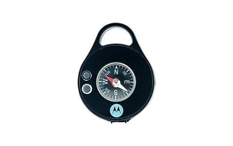 Motorola Pebl Personal Light with Carabiner Clip & Compass