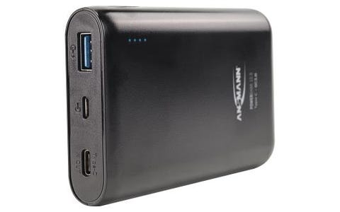 Ansmann Powerbank 10.8 10000mAh Type C + Quick Charge 3.0 Rechargeable battery Pack - Black