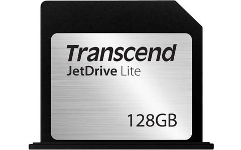 Transcend 128GB JetDrive Lite 350 Storage Expansion Card for iOS Apple Device