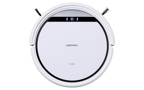 Medion MD 19510 Robot Vacuum Cleaner with Wet Mopping Function