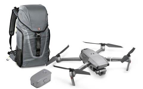 DJI Mavic 2 Pro Drone + Additional Flight Battery + Manfrotto Hover 25 Bag