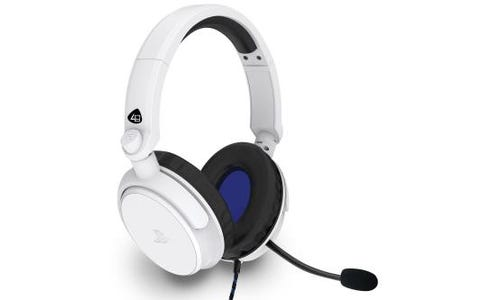 4Gamers PRO4-50s Officially Licensed Stereo Gaming Headset for PS4- White