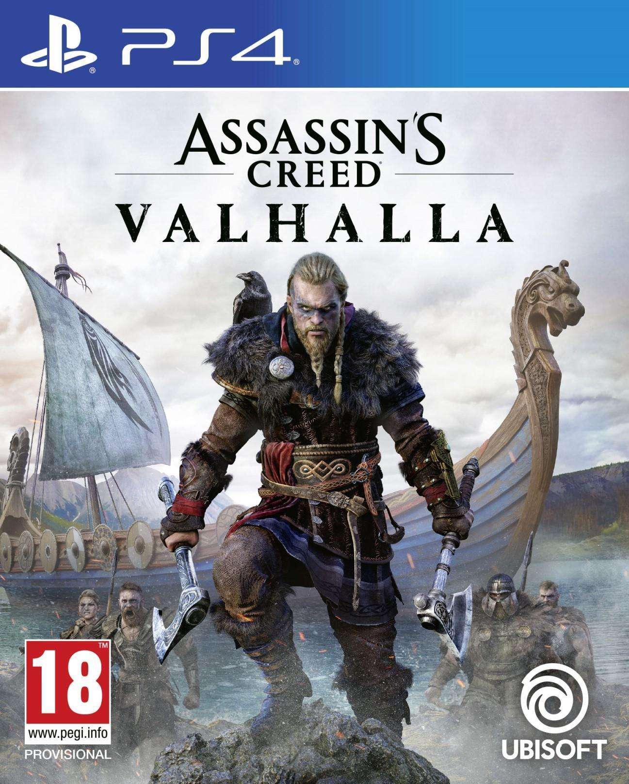 Sony PlayStation 4 Assassins Creed Valhalla Game