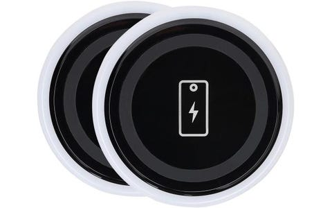 Status International 1A Wireless Desktop Charger Pad for Qi Charging Compatible Phone - Black
