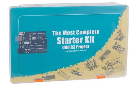 Kuongshun Most Complete Starter Kit for UNO R3 Projects