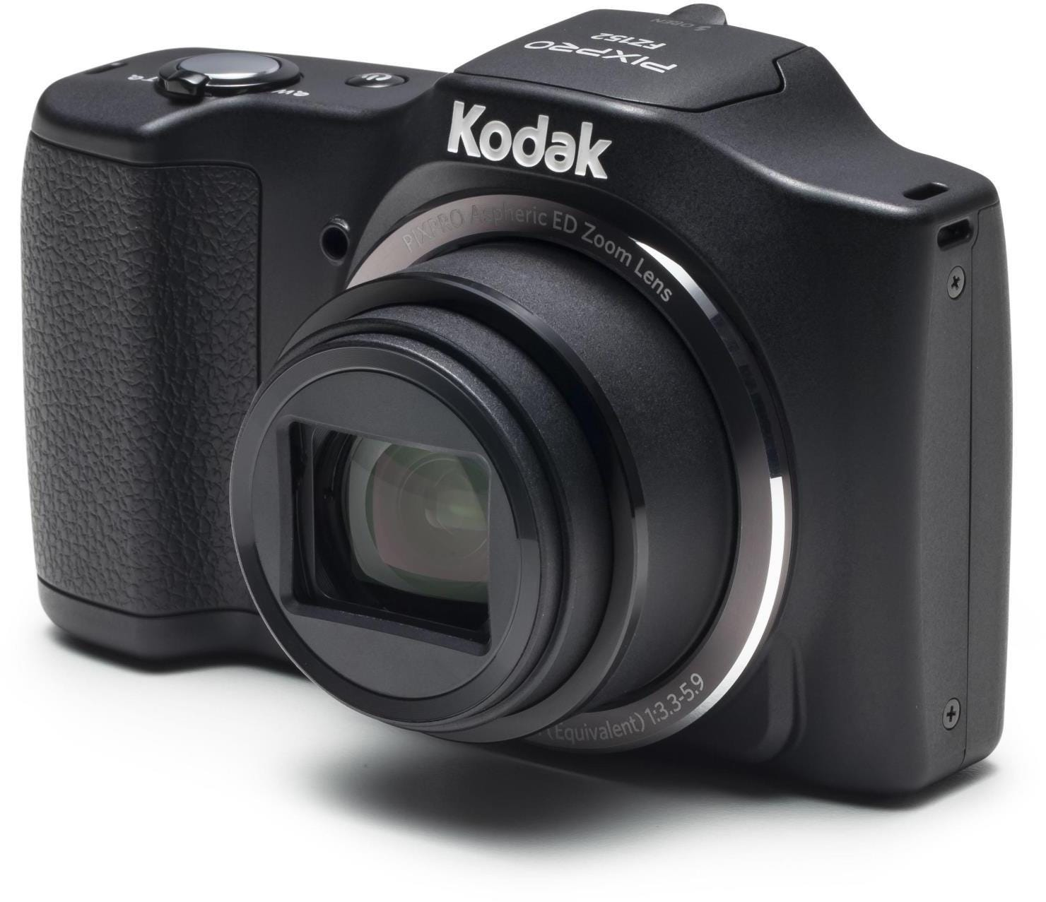 Kodak PIXPRO FZ152 16MP 15x Zoom Compact Camera - Black