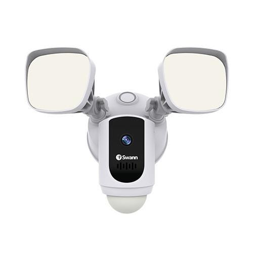 Swann Floodlight Security Camera - White