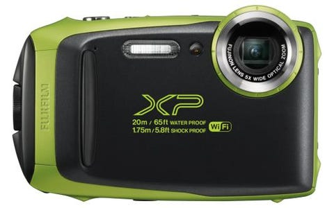 Fujifilm FinePix XP130 Tough Digital Camera - Lime Green