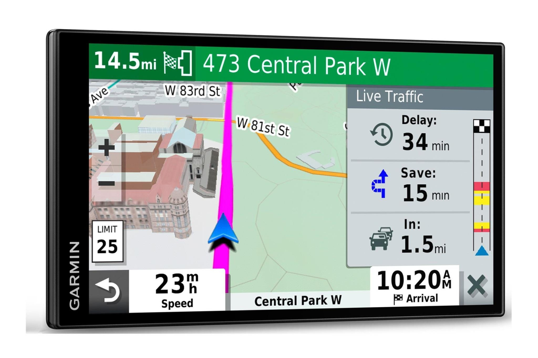 "Garmin DriveSmart 65 Premium 6.95"" Sat Nav with Amazon Alexa - Europe Maps"