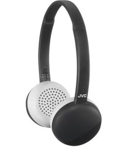JVC HA-S20BT On Ear Headphones Wireless Flats Bluetooth - Black