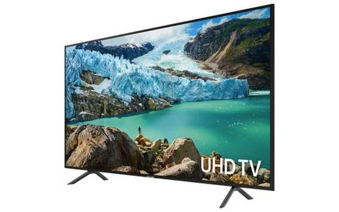 "Samsung RU7100 50"" 4K Smart UHD Quad-Core Processor HDR With Bluetooth & One Remote Television"