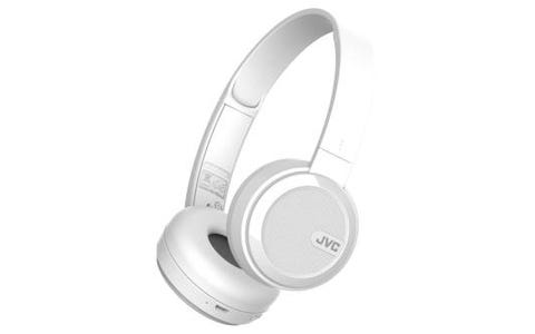 JVC HA-S40 On Ear Headphones Bluetooth - White