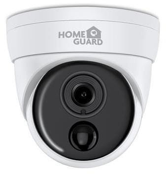 HomeGuard HGPRO-839 Heat-Sensing PIR Indoor / Outdoor Wired Full HD Night-Vision Security Camera - W