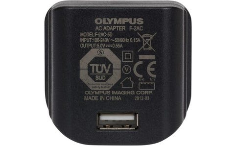 Olympus F-2AC-5D UK USB Charger for Cameras and other USB Devices