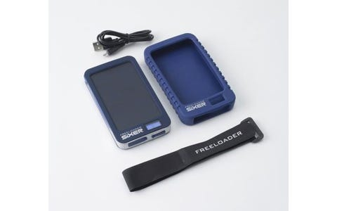 Freeloader SiXER Weatherproof Solar Powered Charger for iPhone & Android