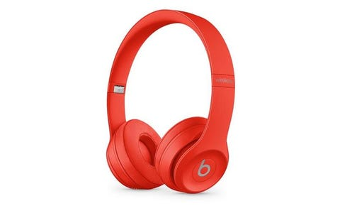 Beats Solo 3 Wireless On-Ear Headphones - Red