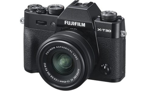 Fujifilm X-T30 Camera XC 15-45mm Lens Kit - Black