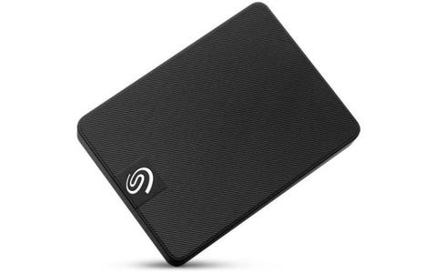 Seagate Expansion Portable 500 GB SSD - Black
