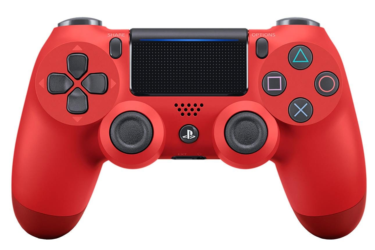 Sony PlayStation 4 DualShock Wireless Controller - Magma Red
