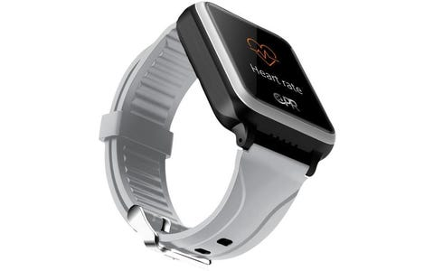 CPR Guardian SOS Personal Alarm Watch with GPS Location Tracking & Heart Rate Monitor - Grey