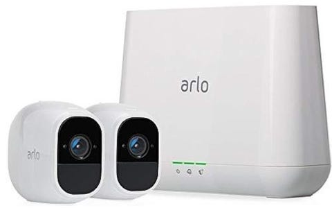 Arlo Pro 2 2-Camera Security System with Inbuilt Alarm Siren