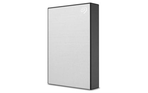 Seagate 4TB Backup Plus Slim Portable External Hard Drive - Silver
