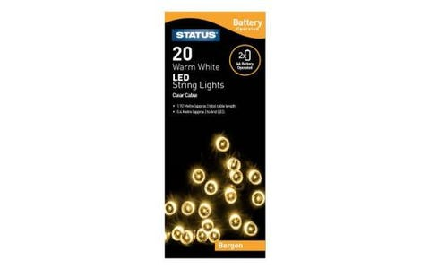 Status Bergen 20 LED String Lights