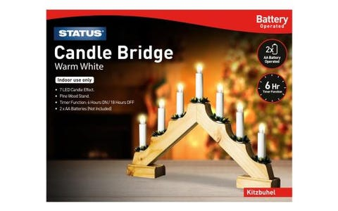 Status Kitzbuhel 7 LED Candle Bridge
