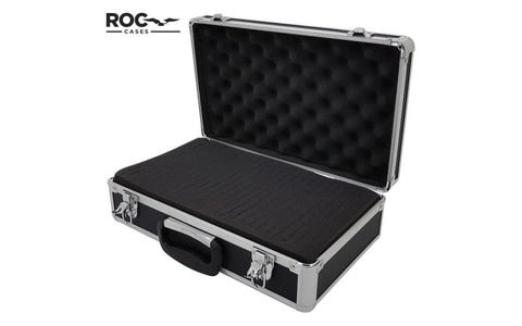 ROC Aluminium Case 400 x 240 x 125mm with inner Foam - Silver