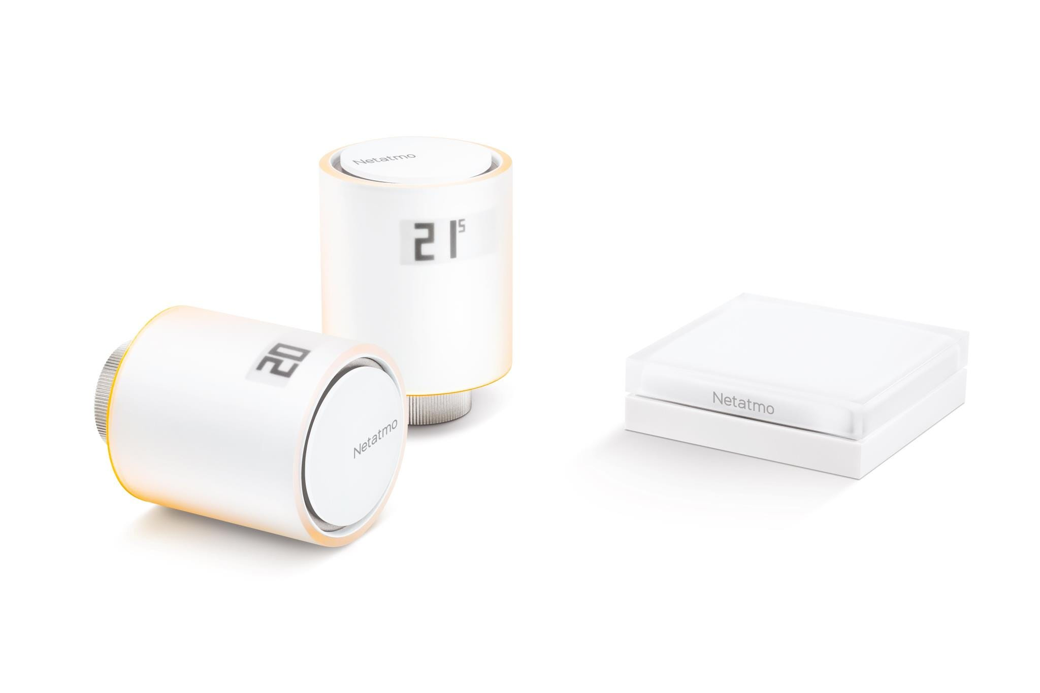 Netatmo Smart Thermostat Including 3 Additional Radiator Valves
