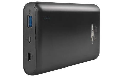 Ansmann Powerbank 20.8 20000mAh Type C + Quick Charge 3.0 - Black