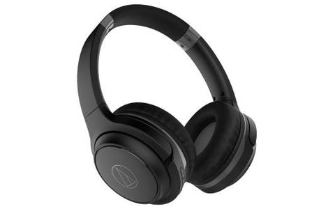 Audio-Technica ATH-S200BT Wireless On-Ear Headphones Black