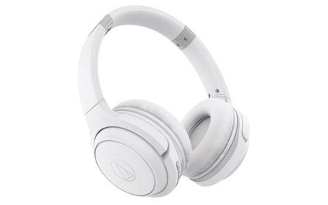 Audio-Technica ATH-S200BT Wireless On-Ear Headphones White