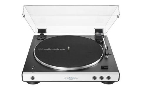 Audio Technica Automatic Wireless Belt-Drive Stereo Turntable AT-LP60XBT- White