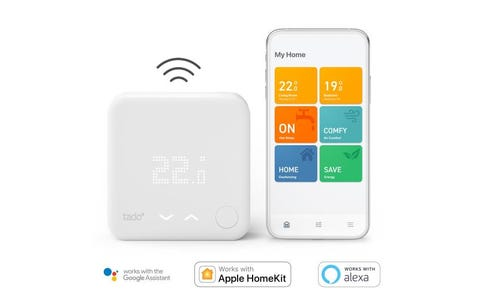 tado° Wireless Smart Thermostat with Hot Water Control Starter Kit V3+
