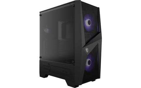 MSI Mag Forge 100M RGB ATX Mid Tower PC Case - Black