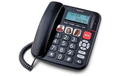 Emporia KFT19 Corded Phone with SOS Button